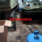Замена гидроаккумулятора в воинской части