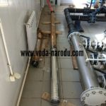 Замена промышленного насоса в артезианской скважине