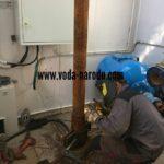 Ремонт водоснабжения, замена гидроаккумулятора