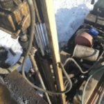 Подъём упавшего насоса из артезианской скважины