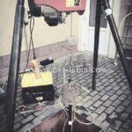 Демонтаж насосного оборудования насос застрял в скважине