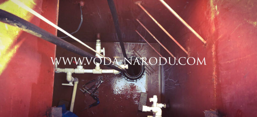 Ремонт металлического кессона для скважины на воду