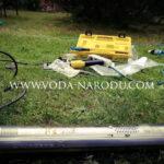 Замена насоса в скважине Кашира