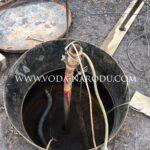 Подъём оторвавшегося насоса из скважины в Воскресенске